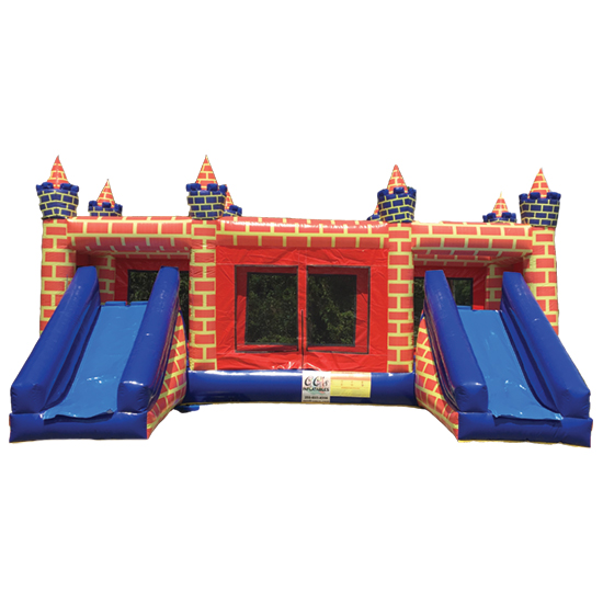 Double Slide Castle Cc S Inflatables And Party Supplies