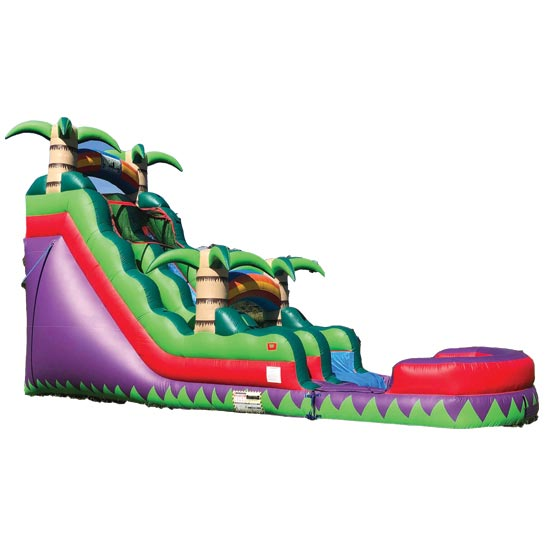 18ft Tropicana Water Slide