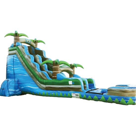 20ft Blue Lagoon Water Slide