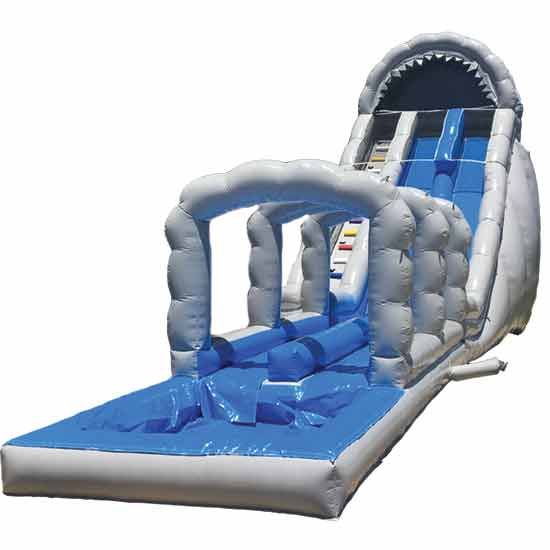 Jaws 28ft Double Slide
