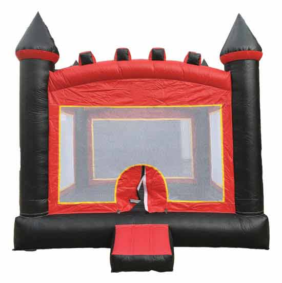 Red and Black Bounce Castle