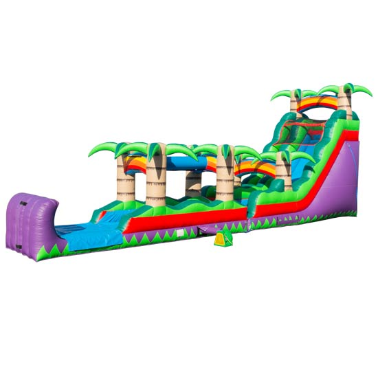 18ft Tropicana with Slip n Slide