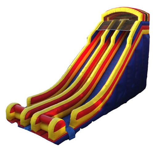 24ft Double Lane Slide