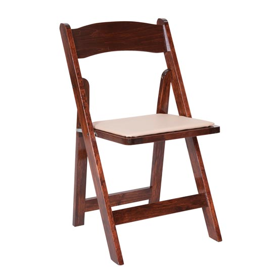 Wooden Padded Chair