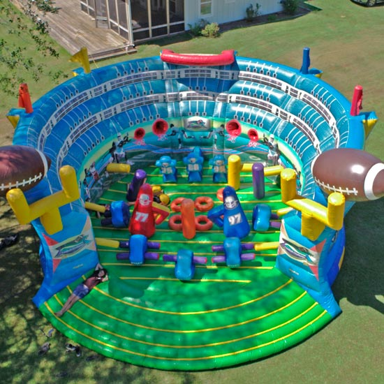Super Bowl Football Obstacle